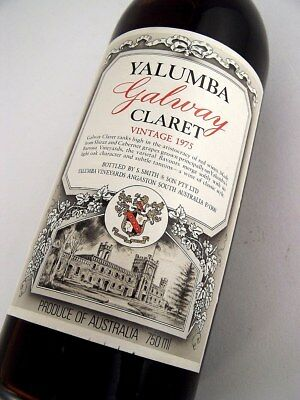 1975 YALUMBA Galway Claret Red Blend D Isle of Wine