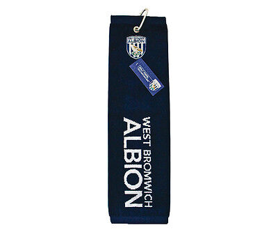 WEST BROMWICH ALBION Official TRI-FOLD GOLF TOWEL