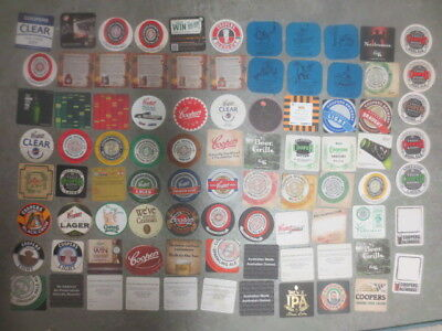 86 Different COOPERS BREWERY South Australia  Issued BEER COASTERS