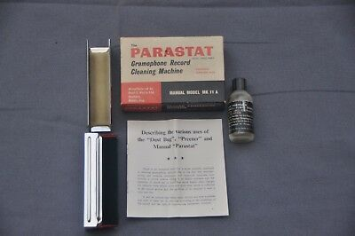 Parastat record cleaning kit