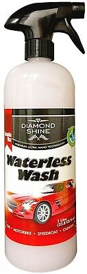 Waterless Wash and Wax Car Cleaner - by Diamond Shine System, 1 Litre