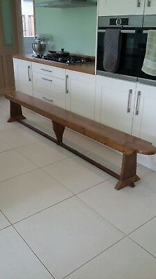 rustic bench pew