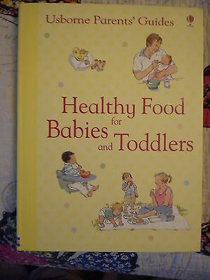 Healthy Food for Babies and Toddles by Usborne
