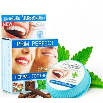 5g Prim Perfect Natural Herbal Thai Toothpaste Strong Formula