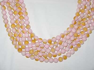5 Strands Gemstone 10mm Rounds Beads 410 beads