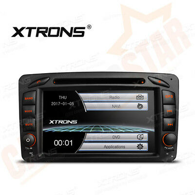 "7"" GPS Sat Nav Car CD DVD Player Stereo for Mercedes-Benz C/CLK Class W203 W209"