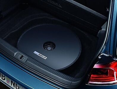 Helix Plug & Play 300W Amplifier Subwoofer Sound System - Genuine Vw Accessory