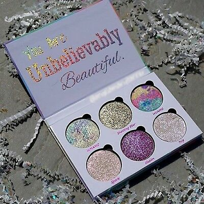 LOVE LUXE BEAUTY FANTASY Drenched Powder Palette 6Shade Limited Edtion Eyeshadow