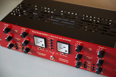 Thermionic Culture THE EARLYBIRD 4 | 4  Channel Mic PreAmp RRP $9799 AS NEW