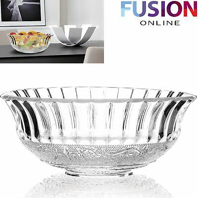 Crystal 20 Cm Bowl Large Crystal Fruit Dessert Ice Cream Sundae Centerpiece Bowl