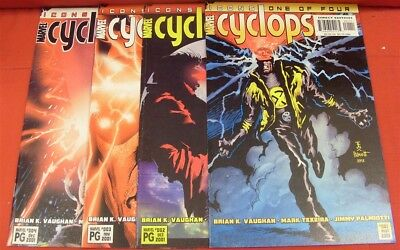 Cyclops Icons 1-4 Marvel Comic Set Complete Vaughan Texeira Palmiotti 2001 Nm