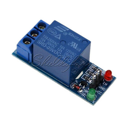 1 Channel 5V Relay Module Shield F Arduino Uno Meage2560/1280 ARM PIC AVR High