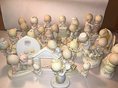 Vintage Precious Moments Figurines Lot of 27