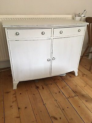 1930s solid wood painted Sideboard