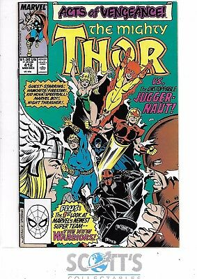 Thor  #412   FN  1st Full New Warriors