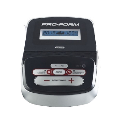 Proform 600 Space Saver Cross Trainer Console