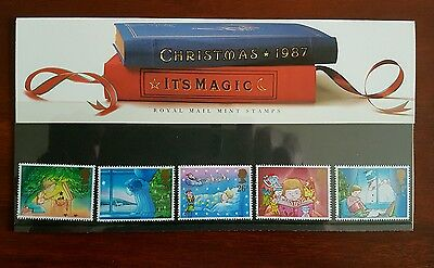 GB 1987  SG1375-1379 CHRISTMAS     Unmounted mint