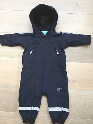 Polarn O Pyret Waterproof Suit 0-6 Months / 68cm (would fit 6-12 months)