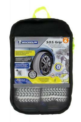 Chaines Neige Textiles MICHELIN SOS Grip N°06 / 225/40x18 225/35x19 235/35x19