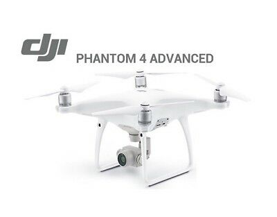 DJI Phantom 4 Advanced with Controller - White App compatible with iOS & Android