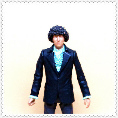 """BBC Doctor Who The Fourth 4TH Doctor Regenerated Tom Baker ACTION FIGURE 5.5"""""""