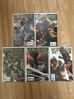 Wolverine Origins 21 22 23 24 25 : Deadpool Complete Story Arc - Marvel Deadpool