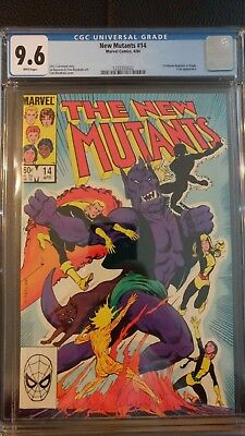 New Mutants #14 CGC 9.6 White Pages (1984) 1st Illyana as Magik .99 AUCTION!