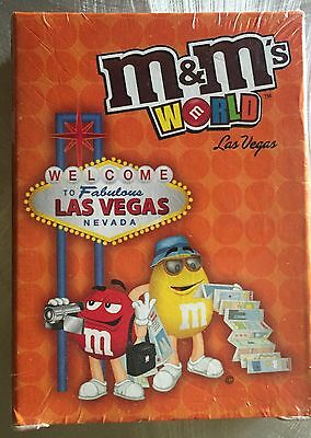 New Sealed Package Mars M&M Candies LAS VEGAS Playing Cards Deck
