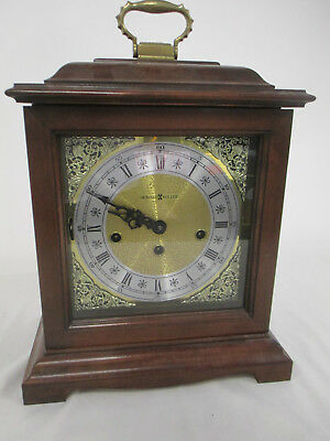 Howard Miller Analog Mantle Clock with Chimes/Handle Key Wound