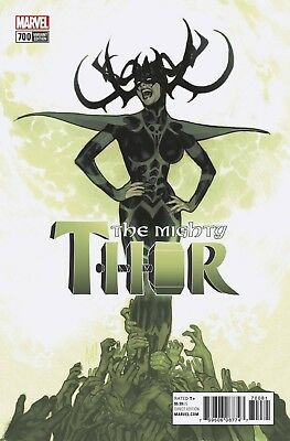Mighty Thor 700 Adam Hughes 1:100 Variant Nm Legacy Death