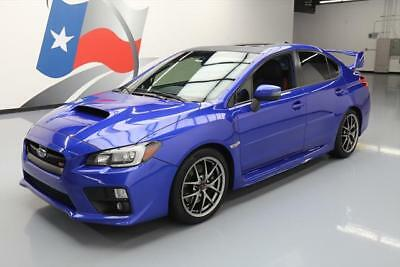 2016 Subaru WRX  2016 SUBARU WRX STI LTD AWD SUNROOF NAV HTD LEATHER 30K #802111 Texas Direct