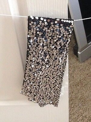 Justice Girls Sequin Scarf Holiday Dress Up One Size