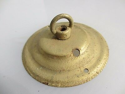 Old Iron Ceiling Light Hook Bracket Chandelier Hanger Vintage Gold