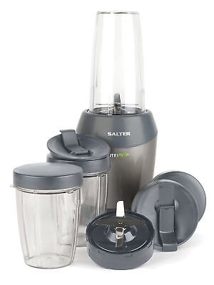 Salter 1000W EK2002 SILVER Nutri Pro Super Charged Multi-Purpose Extractor 1L
