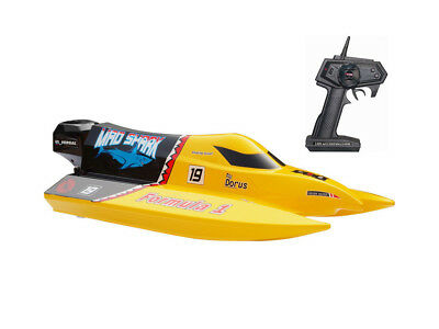 Joysway Mad Shark 2.4GHz RTR Brushed Mini EP F1 Speed Boat RRP £79.99