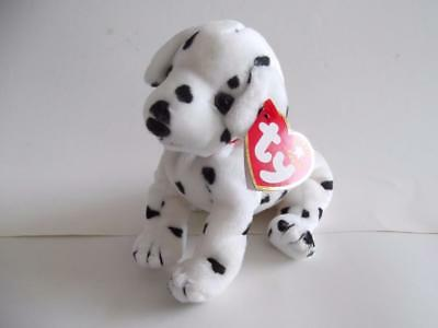 "TY BEANIE BABIES #4514 - RESCUE THE DALMATION - SEPTEMBER 11 2001 - 7"" + tag"