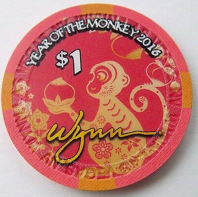 YEAR of THE MONKEY from WYNN CASINO,LAS VEGAS,NV