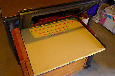 "Saunders 16x20"" Professional V-Track 4 Bladed Heavy Duty Darkroom Easel VT2000"
