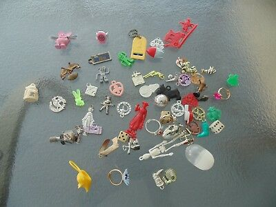 Vintage Rat Fink Charm with Whiskers GUMBALL TOY Cracker Jack PRIZE Gumby Lot