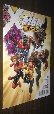 X-MEN GOLD #1 -- 1st Printing (RECALLED Edition) -- Syaf -- NM- Or Better