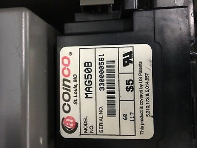 Coinco MAG50B Bill Validator with 60 day guarantee
