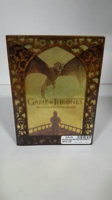 Game of Thrones: The Complete Fifth Season (DVD, 2016, 5-Disc Set) (FE3011085)