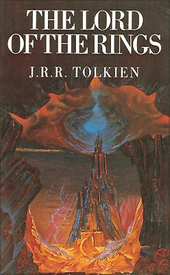 Lord Of The Rings Lotr Book Jrr Tolkien 1990 Edition