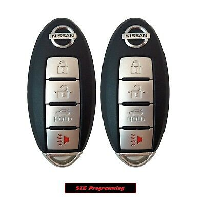 2 New Replacement Keyless Entry Remote Ignition Key Fob Smart Prox KR55WK48903