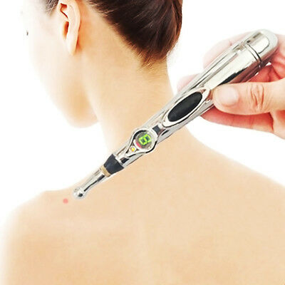 Electronic Meridians Laser Acupuncture Pen Magnet Massage Therapy Energy Point