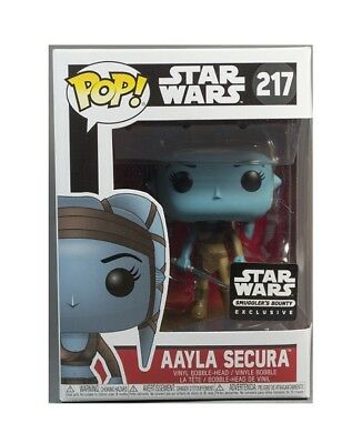 FUNKO POP STAR WARS AAYLA SECURA JEDI SMUGGLERS bounty EXCLUSIVE 217