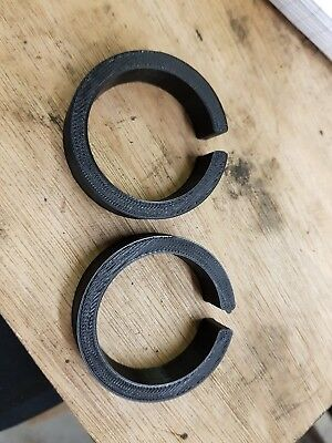 50mm Kart Axle Spacers