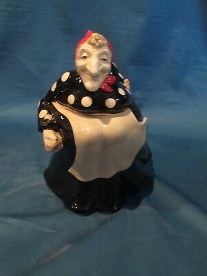 Fitz and Floyd Polka Dot Witch cookie jar-1979, retired