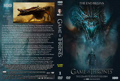 NEW 2017 Game of Thrones SEASON 7 DVD Set 3 Disc IN STOCK READY TO SHIP