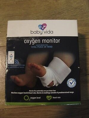 New and Sealed Baby Vida Oxygen Level & Heart Rate Monitor for 0-12 months old